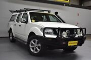 2010 Nissan Navara D40 ST-X White 5 Speed Automatic Utility Brooklyn Brimbank Area Preview