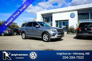 2013 Mercedes-Benz M-Class ML350 BlueTEC AWD Premium w/ Light Pa