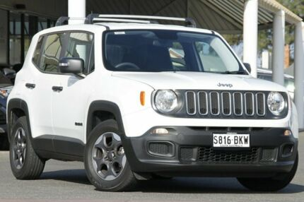 2016 Jeep Renegade BU MY16 Sport DDCT White 6 Speed Sports Automatic Dual Clutch Hatchback Christies Beach Morphett Vale Area Preview