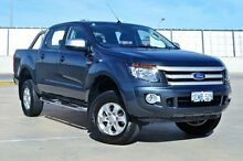 2014 Ford Ranger PX XLS Double Cab Grey 6 Speed Manual Utility Midland Swan Area Preview