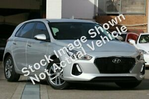 2017 Hyundai i30 PD MY18 Active Silver 6 Speed Sports Automatic Hatchback Maroochydore Maroochydore Area Preview