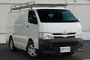 2012 Toyota Hiace KDH201R MY12 LWB White Solid 4 Speed Automatic Van Upper Ferntree Gully Knox Area Preview