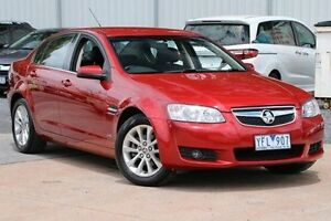 2010 Holden Berlina VE II Red 6 Speed Sports Automatic Sedan Ferntree Gully Knox Area Preview