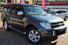 2010 Mitsubishi Pajero NT MY11 GLX LWB (4x4) Grey 5 Speed Auto Sports Mode Wagon Campbelltown Campbelltown Area Preview