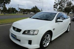 2007 Holden Commodore VE SV6 White 6 Speed Manual Sedan