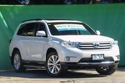 2012 Toyota Kluger GSU45R MY12 Altitude AWD Pearl White 5 Speed Sports Automatic Wagon Ringwood East Maroondah Area Preview