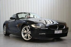 2008 BMW Z4 E85 MY07 Steptronic Black 6 Speed Sports Automatic Roadster Port Melbourne Port Phillip Preview