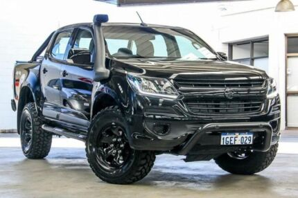 2017 Holden Colorado RG MY18 LS (4x4) Black 6 Speed Automatic Crew Cab Pickup Cannington Canning Area Preview