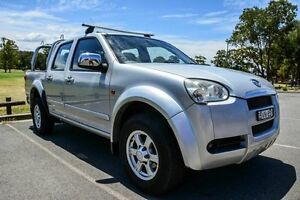 2010 Great Wall V240 K2 (4x2) Silver 5 Speed Manual Dual Cab Utility Wetherill Park Fairfield Area Preview