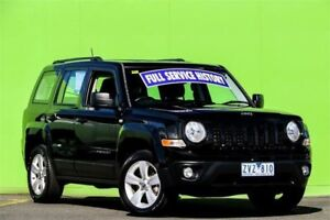 2013 Jeep Patriot MK MY2013 Sport CVT Auto Stick 4x2 Black 6 Speed Constant Variable Wagon Ringwood East Maroondah Area Preview