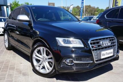 2014 Audi SQ5 8R MY14 TDI Tiptronic Quattro Black 8 Speed Sports Automatic Wagon Pearce Woden Valley Preview