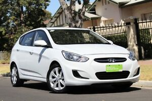2017 Hyundai Accent RB5 MY17 Sport White 6 Speed Sports Automatic Hatchback Nailsworth Prospect Area Preview