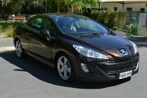 2009 Peugeot 308 T7 CC Brown 4 Speed Sports Automatic Convertible Norwood Norwood Area Preview