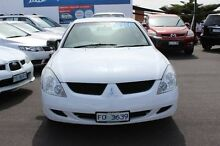 2005 Mitsubishi Magna TW ES White 4 Speed Sports Automatic Sedan Burnie Burnie Area Preview