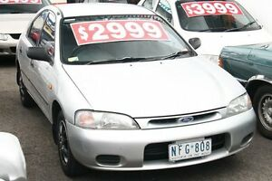 1995 Ford Laser KJ LXI Liata Silver 4 Speed Automatic Hatchback Briar Hill Banyule Area Preview