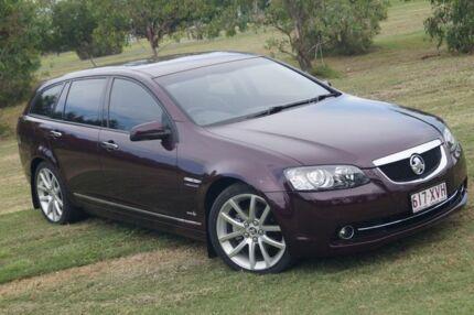 2012 Holden Calais VE II MY12.5 V Sportwagon Purple 6 Speed Sports Automatic Wagon