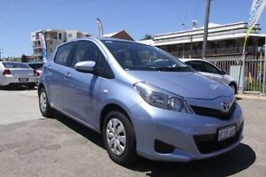 2014 Toyota Yaris NCP130R YR Blue 4 Speed Automatic Hatchback South Fremantle Fremantle Area Preview