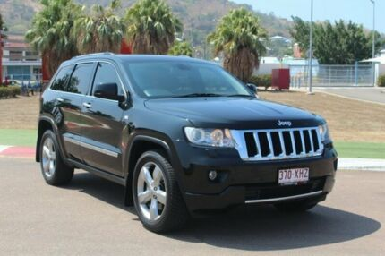 2013 Jeep Grand Cherokee WK MY2013 Limited Black 5 Speed Sports Automatic Wagon