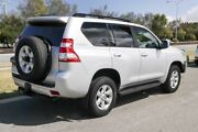 2015 Toyota Landcruiser Prado GDJ150R GXL Silver Pearl 6 Speed Sports Automatic Wagon Clarkson Wanneroo Area Preview