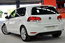 2012 Volkswagen Golf 1K MY12 118 TSI Comfortline White 7 Speed Automatic Hatchback Coopers Plains Brisbane South West Preview