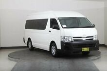 2011 Toyota Hiace TRH223R MY11 Upgrade Commuter White 5 Speed Manual Bus Smithfield Parramatta Area Preview