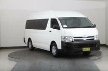 2011 Toyota Hiace TRH223R MY11 Upgrade Commuter White 5 Speed Manual Bus Smithfield Parramatta Area Preview