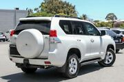 2013 Toyota Landcruiser Prado KDJ150R 11 Upgrade Altitude (4x4) White 5 Speed Sequential Auto Wagon Cannington Canning Area Preview