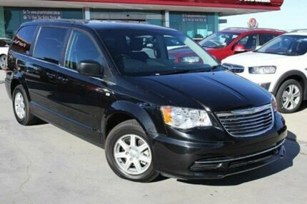 2014 Chrysler Grand Voyager RT 5th Gen MY13 LX Black 6 Speed Automatic Wagon Wangara Wanneroo Area Preview