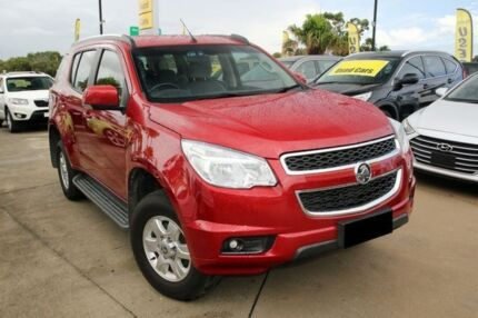 2015 Holden Colorado 7 RG MY15 LT Red 6 Speed Sports Automatic Wagon