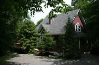 Mont Tremblant/Lac Superieur Mountain Chalet with lake Access