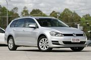 2014 Volkswagen Golf VII MY15 90TSI DSG Comfortline Silver 7 Speed Sports Automatic Dual Clutch Springwood Logan Area Preview