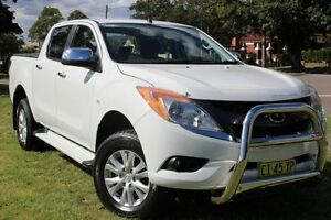 2015 Mazda BT-50 UP0YF1 XTR White 6 Speed Sports Automatic Utility Hamilton East Newcastle Area Preview