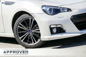 2014 Subaru BRZ Z1 MY14 White 6 Speed Sports Automatic Coupe