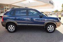 2005 Hyundai Tucson Elite Blue 4 Speed Sports Automatic Wagon Osborne Park Stirling Area Preview