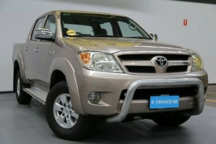 2007 Toyota Hilux GGN25R MY07 SR5 Gold 5 Speed Manual Utility Brooklyn Brimbank Area Preview