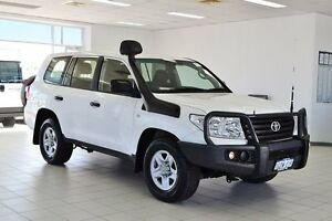 2012 Toyota Landcruiser VDJ200R MY12 GX (4x4) White 6 Speed Automatic Wagon Morley Bayswater Area Preview