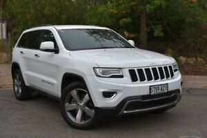 2013 Jeep Grand Cherokee WK MY2014 Limited White 8 Speed Sports Automatic Wagon St Marys Mitcham Area Preview