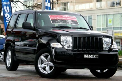2012 Jeep Cherokee KK MY12 Sport (4x4) Black 4 Speed Automatic Wagon Waitara Hornsby Area Preview