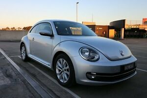 2013 Volkswagen Beetle 1L MY13 Coupe DSG Silver 7 Speed Sports Automatic Dual Clutch Liftback Haymarket Inner Sydney Preview