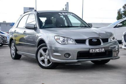 2006 Subaru Impreza S MY06 AWD Grey 4 Speed Automatic Hatchback Kirrawee Sutherland Area Preview