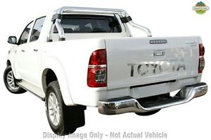 2013 Toyota Hilux KUN26R MY12 SR5 Double Cab White 4 Speed Automatic Utility Balcatta Stirling Area Preview
