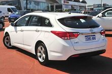 2014 Hyundai i40 VF2 Active Tourer White 6 Speed Sports Automatic Wagon Wangara Wanneroo Area Preview