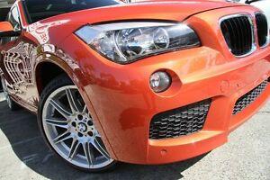 2013 BMW X1 E84 MY13 sDrive 20I Orange 8 Speed Automatic Wagon Mosman Mosman Area Preview