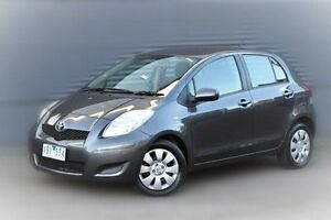 2009 Toyota Yaris NCP91R MY09 YRS Grey 4 Speed Automatic Hatchback Berwick Casey Area Preview