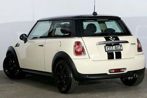 2013 Mini Hatch R56 LCI Cooper Pepper White 6 Speed Manual Hatchback Alexandria Inner Sydney Preview