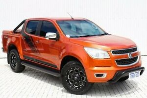 2014 Holden Colorado RG MY14 Storm Crew Cab Orange 6 Speed Manual Utility Embleton Bayswater Area Preview