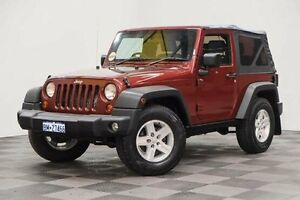 2008 Jeep Wrangler JK MY2008 Rubicon Red 6 Speed Manual Softtop Edgewater Joondalup Area Preview
