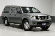 2011 Nissan Navara D40 MY11 RX (4x2) Grey 6 Speed Manual Dual Cab Pick-up Bentley Canning Area Preview