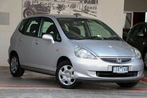 2005 Honda Jazz GD MY05 VTi Silver 7 Speed Constant Variable Hatchback Doncaster Manningham Area Preview
