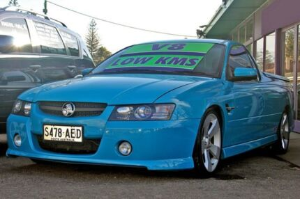 2005 Holden Ute VZ SS Z Blue 4 Speed Automatic Utility Glenelg East Holdfast Bay Preview